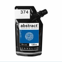 ACRYLIQUE FINE ABSTRACT 120ML BLEU CERULEUM IMIT