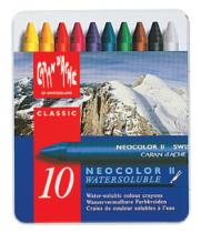 boite 10 crayons neocolor