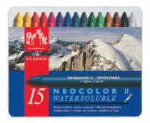 boite 15 crayons neocolor