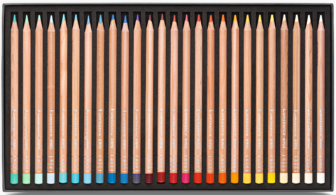 76 crayons luminance 6901 2