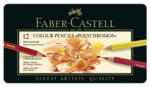 12 crayons polychromos