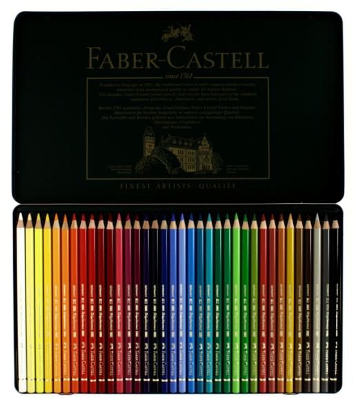 36 crayons polychromos 1