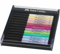 LOT DE 12 ARTIST PEN BRUSH PITT PASTEL