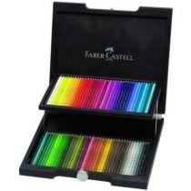 Coffret bois 72 crayons Polychromos FABER CASTELL