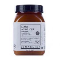Liant acrylique 200ml Sennelier