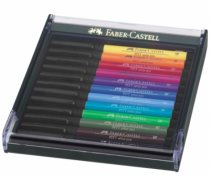 LOT DE 12 ARTIST PEN BRUSH PITT BASIC