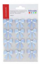 NOEUDS LOLLIPOP BLEU 12PCS