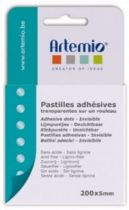 PASTILLES ADHESIVES TRANSPARENTES 300*5MM
