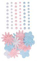 51 perles + 24 FLEURS LOVELY SWAN janv19