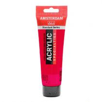 ACRYL AMSTERDAM 120ML ROUGE PERMANENT POURPRE
