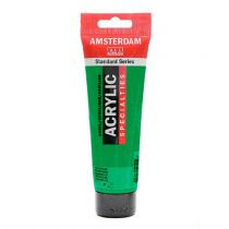 ACRYL AMSTERDAM 120ML VERT PERMANENT CLAIR