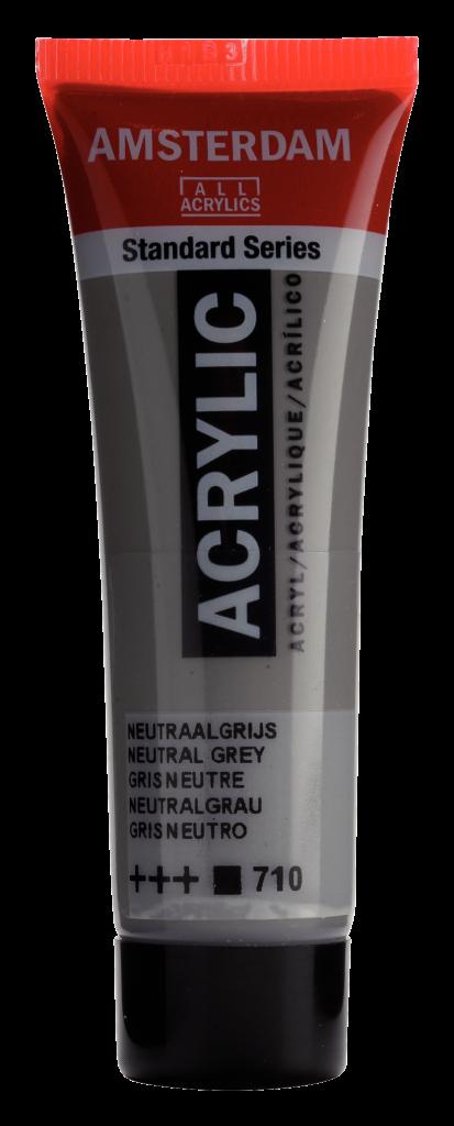 ACRYLIQUE AMSTERDAM 20ML GRIS NEUTRE