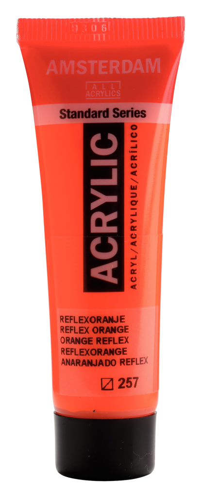 ACRYLIQUE AMSTERDAM 20ML ORANGE REFLEX
