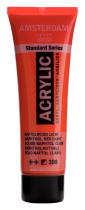 ACRYLIQUE AMSTERDAM 20ML ROUGE NAPHTOL CLAIR