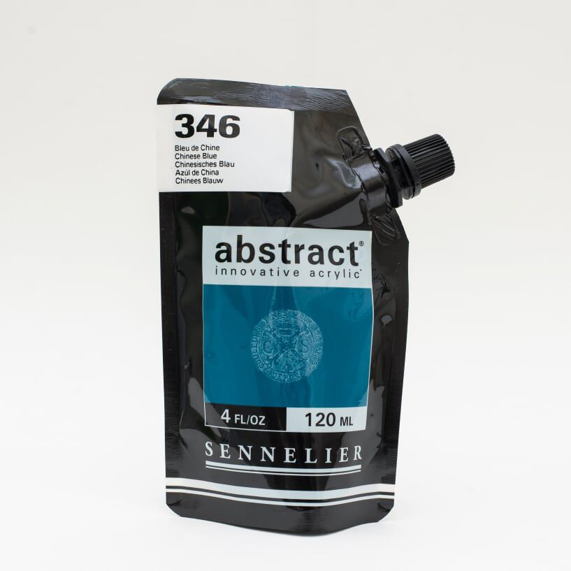 ACRYLIQUE FINE ABSTRACT 120ML BLEU DE CHINE