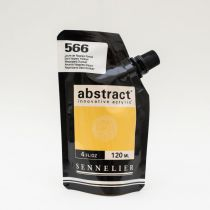 ACRYLIQUE FINE ABSTRACT 120ML JAUNE DE NAPLES FONCE