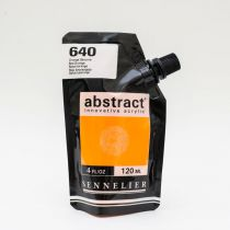 ACRYLIQUE FINE ABSTRACT 120ML ORANGE DE SATURNE