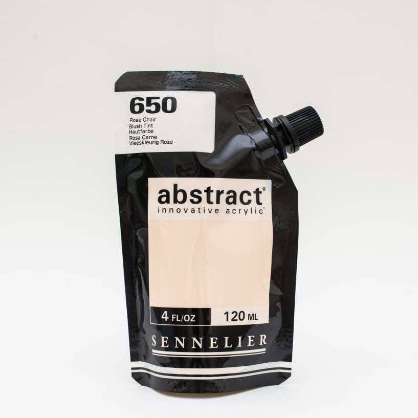 ACRYLIQUE FINE ABSTRACT 120ML ROSE CHAIR