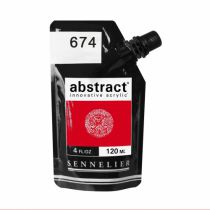 ACRYLIQUE FINE ABSTRACT 120ML VERMILLON