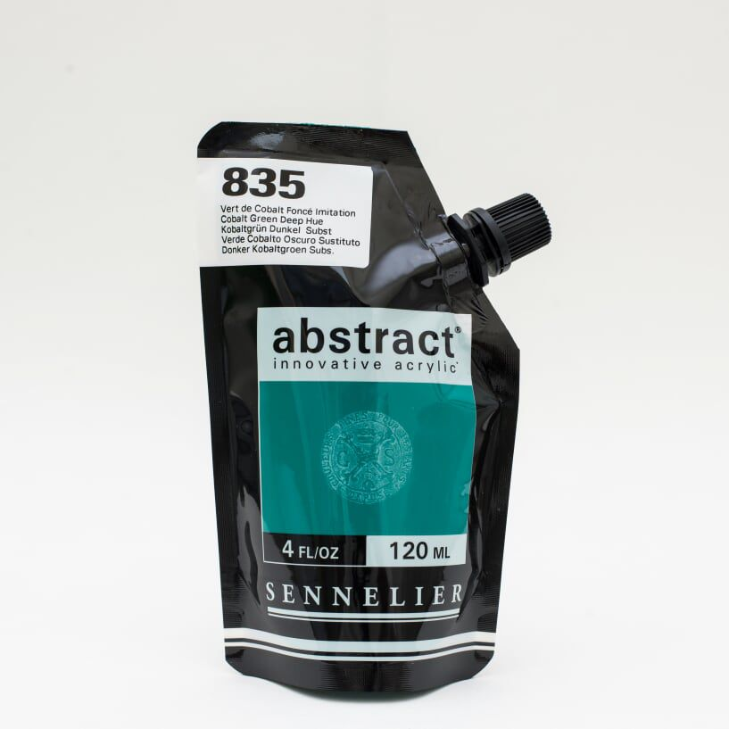 ACRYLIQUE FINE ABSTRACT 120ML VERT DE COBALT FONCE