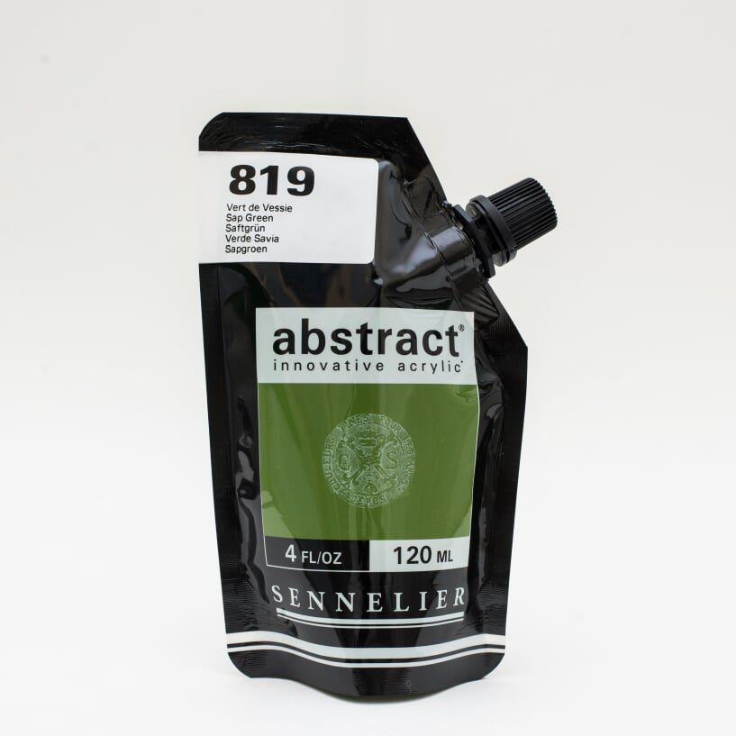 ACRYLIQUE FINE ABSTRACT 120ML VERT DE VESSIE