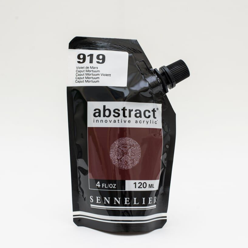 ACRYLIQUE FINE ABSTRACT 120ML VIOLET DE MARS