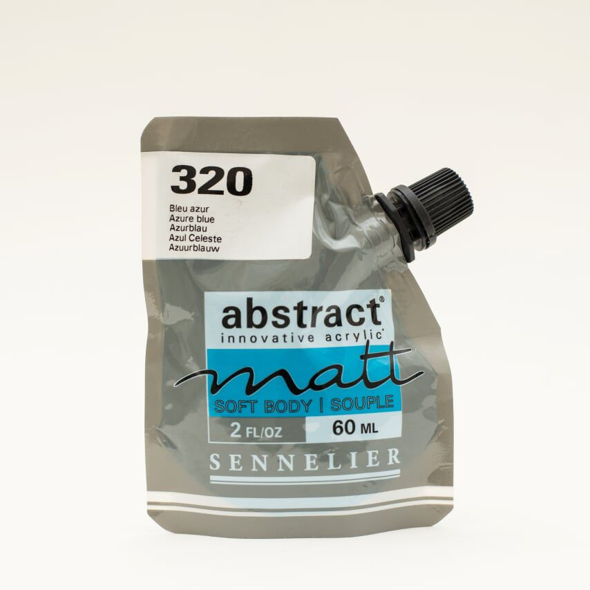 ACRYLIQUE FINE ABSTRACT MATT 60ML BLEU AZUR