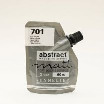 ACRYLIQUE FINE ABSTRACT MATT 60ML GRIS NEUTRE