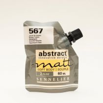 ACRYLIQUE FINE ABSTRACT MATT 60ML JAUNE DE NAPLES