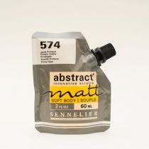 ACRYLIQUE FINE ABSTRACT MATT 60ML JAUNE PRIMAIRE