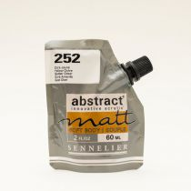 ACRYLIQUE FINE ABSTRACT MATT 60ML OCRE JAUNE