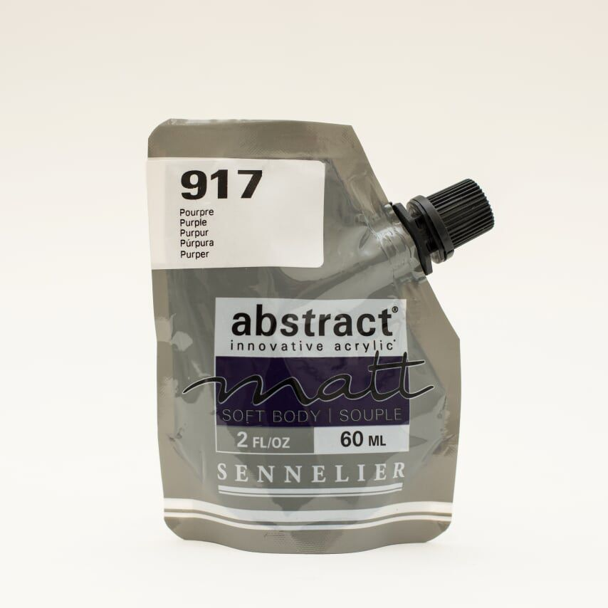 ACRYLIQUE FINE ABSTRACT MATT 60ML POURPRE