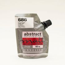 ACRYLIQUE FINE ABSTRACT MATT 60ML ROUGE PRIMAIRE