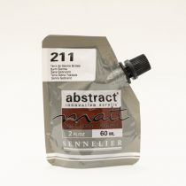 ACRYLIQUE FINE ABSTRACT MATT 60ML TERRE DE SIENNE BRULEE