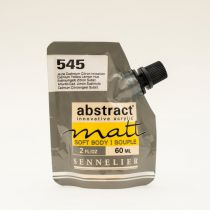 ACRYLIQUE FINE ABSTRACT MATT 60ML TON JAUNE DE CADMIUM CITRON