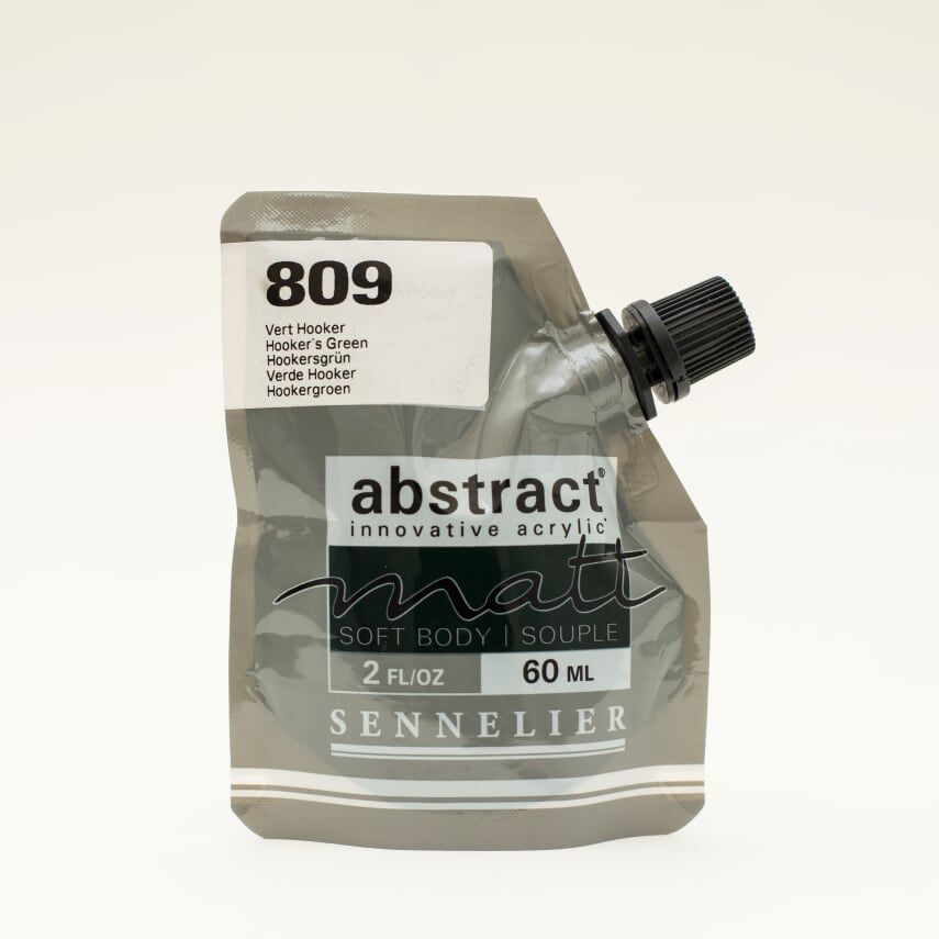 ACRYLIQUE FINE ABSTRACT MATT 60ML VERT HOOKER