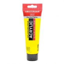 AMSTERDAM 120ML JAUNE AZO TRANSPARENT MOYEN