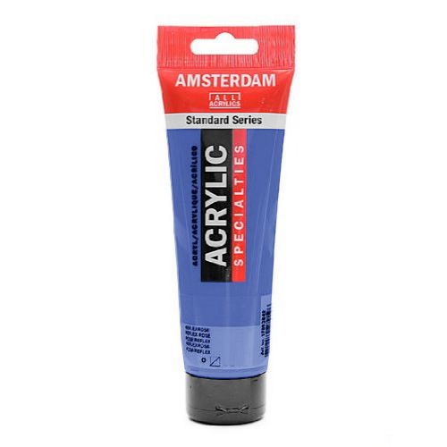 AMSTERDAM 120ML OUTREMER VIOLET CLAIR