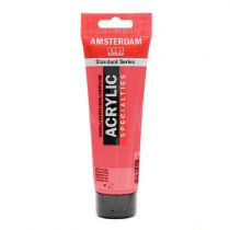 AMSTERDAM 120ML ROUGE TRANSPARENT MOYEN