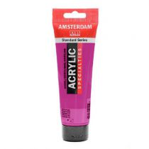 AMSTERDAM 120ML VIOLET ROUGE PERMANENT CLAIR
