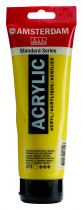 AMSTERDAM 250ML JAUNE AZO TRANSPARENT MOYEN