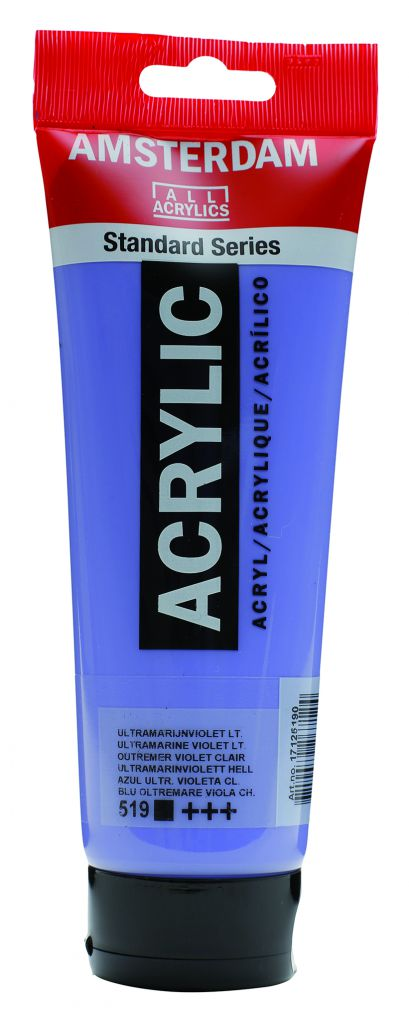 AMSTERDAM 250ML OUTREMER VIOLET CLAIR