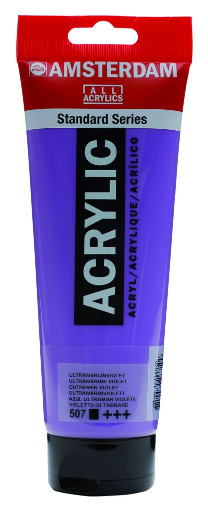 AMSTERDAM 250ML OUTREMER VIOLET