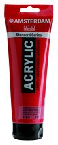 AMSTERDAM 250ML ROUGE TRANSPARENT MOYEN
