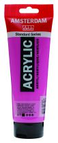 AMSTERDAM 250ML VIOLET ROUGE PERMANENT CLAIR