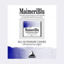 AQUARELLE 1/2 GODET MAIMERI BLU BLEU OUTREMER CLAIR