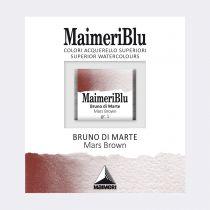 AQUARELLE 1/2 GODET MAIMERI BLU BRUN DE MARS