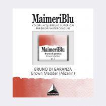 AQUARELLE 1/2 GODET MAIMERI BLU LAQUE DE GARANCE BRUNE