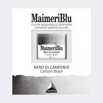 AQUARELLE 1/2 GODET MAIMERI BLU NOIR DE CARBONE