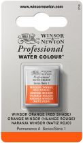 AQUARELLE 1/2 GODET ORANGE WINSOR SERIE1